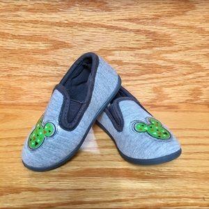 Disney Mickey Mouse Grey Boy slippers anti-slip